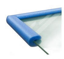 Профиль и уголки защитные для стекла